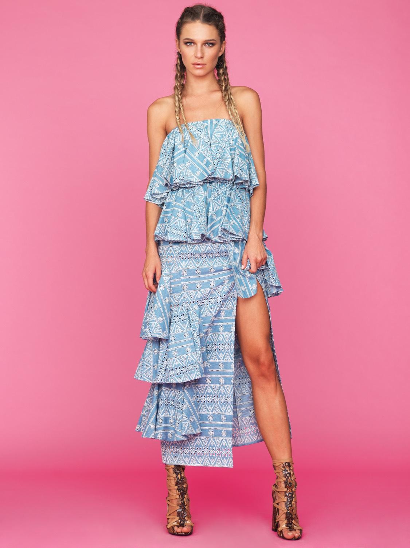 Bluish Dress