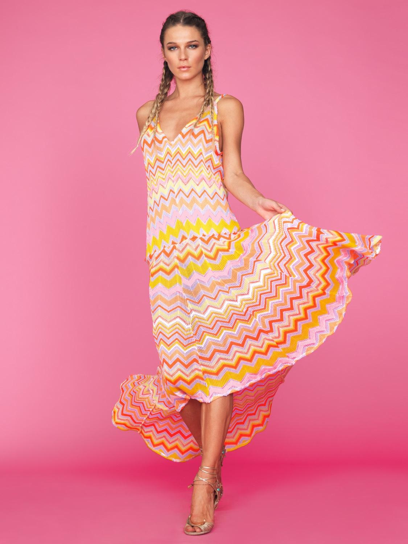 ZigZag Long Dress