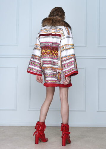 Indian red Coat