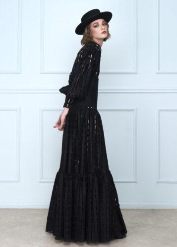 Black Cutouts Dress