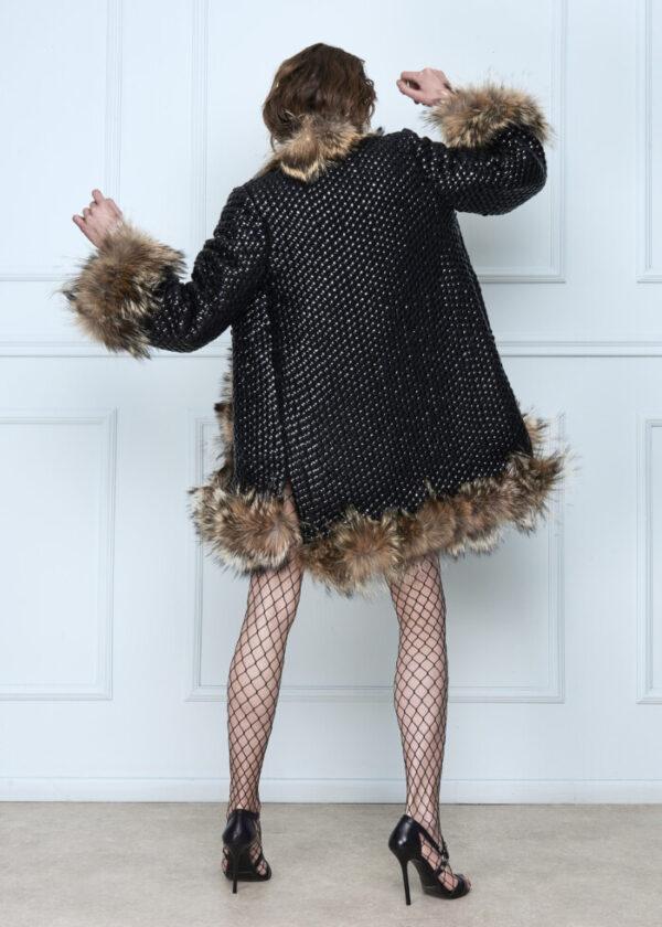 Black Veeners Coat
