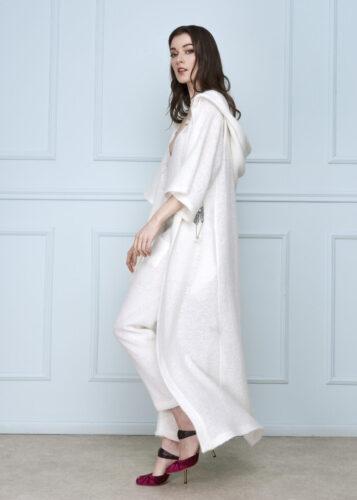 White Wool Coat