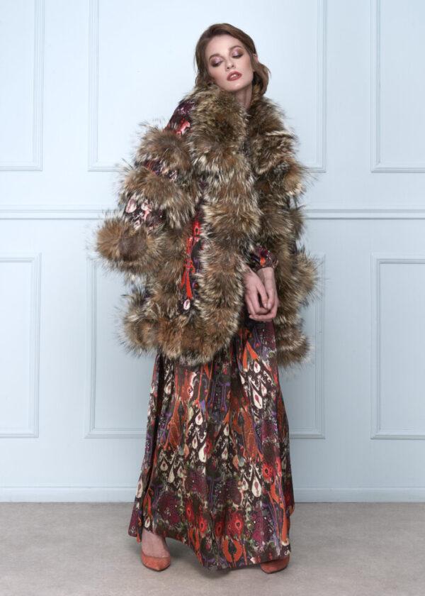 Colorful Velvet Coat