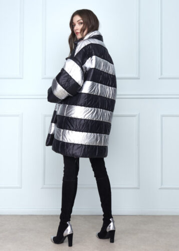 Black & Grey Anorak