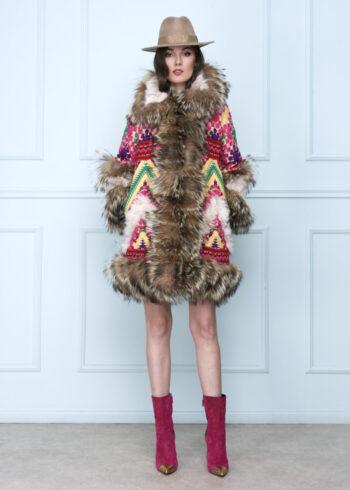 Tribal Color Coat